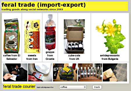 Screenshot of the online database