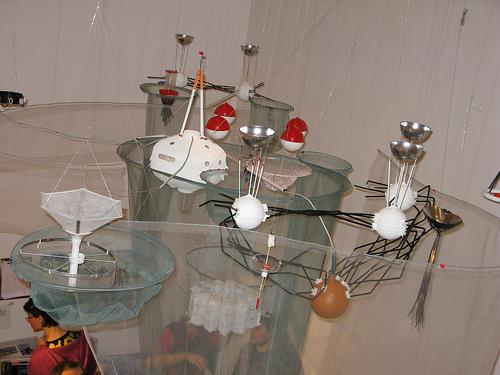 Photograph of an idea using DIY technologies