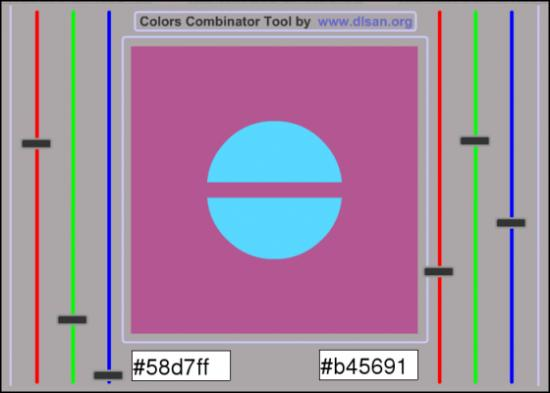 Colors Combination Tool by dlsan (2002)