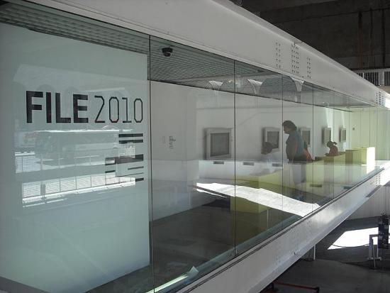Image: FILE entrance