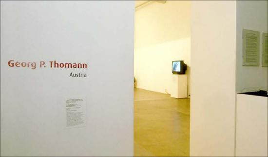 Georg P Thomann exhibit, Sao Paulo Art Biennial, Brazil 2002.