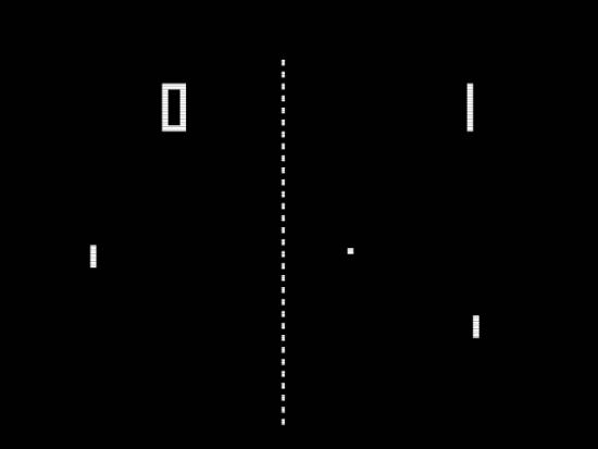 the Atari company picked up the idea and created a commercial version and called it PONG