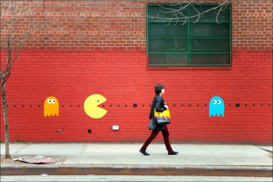 Street Pac Man