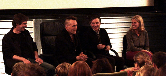 On 12th November 2009, Director Eve Wood joined Pulp's Russell Senior and Jake Harries from Chakk for a chat following a screening of The Beat is the Law Part One.