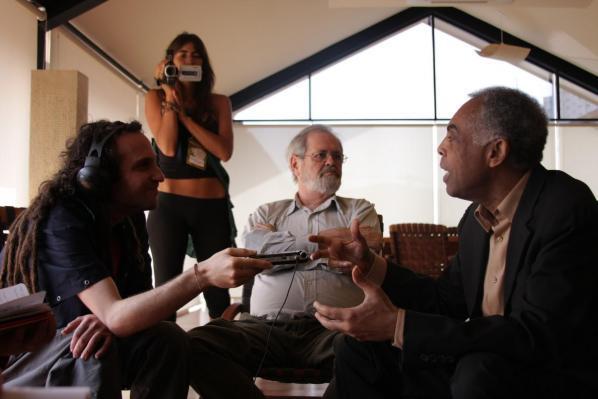 Gilberto Gil and Claudio Prado