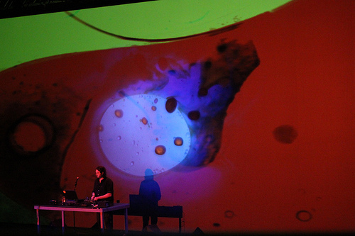 Joshua Light Show ft. Oneohtrix Point Never, transmediale 2k+12  © Ania Domanska
