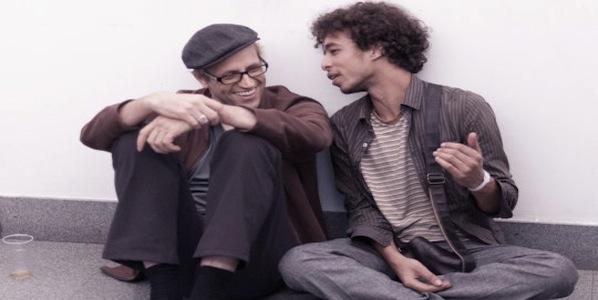 Robert Henke (left) and Tarik Barri (right)