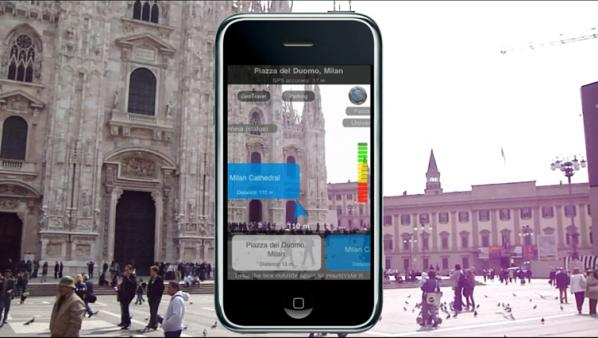 Milan Cathedral, augmented reality device