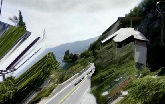 Lake Como Remix, MOGA (2012) by Mark Amerika