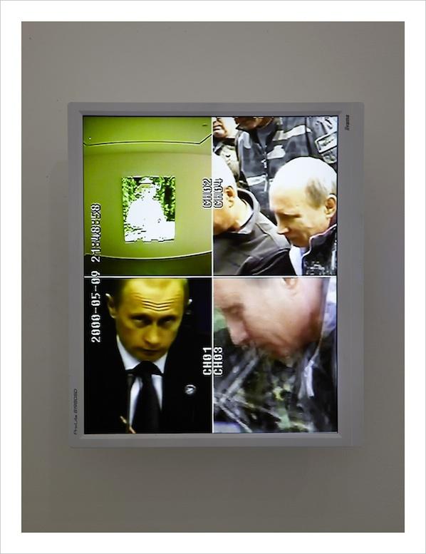 UBERMORGEN, Vladimir (2013) . Image courtesy of Caroll Fletcher gallery.