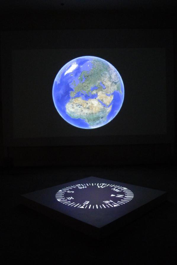 Thomson & Craighead. Belief installation shot 2012.
