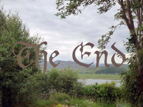 The End. Thomson and Craighead 2010.