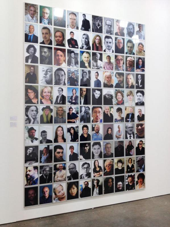 The Top 100 Highest Ranked Curators In The World. By Jonas Lund.  Installation at Tent, Rotterdam.