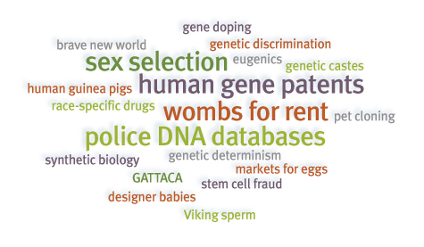 From The Center for Genetics and Society.