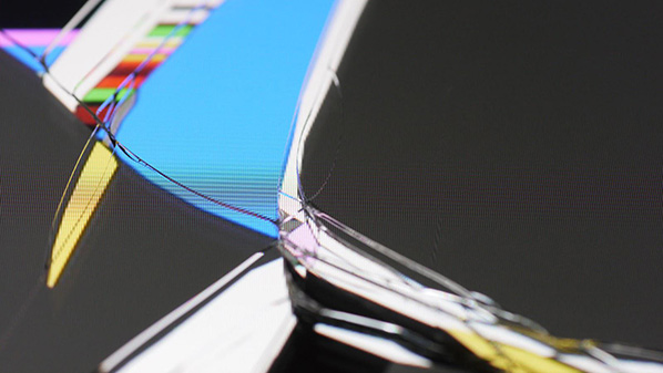 Jon Satrom's Cracked iPads