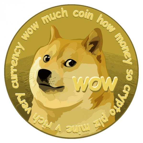 dogecoin. wow, such coin. amaze.