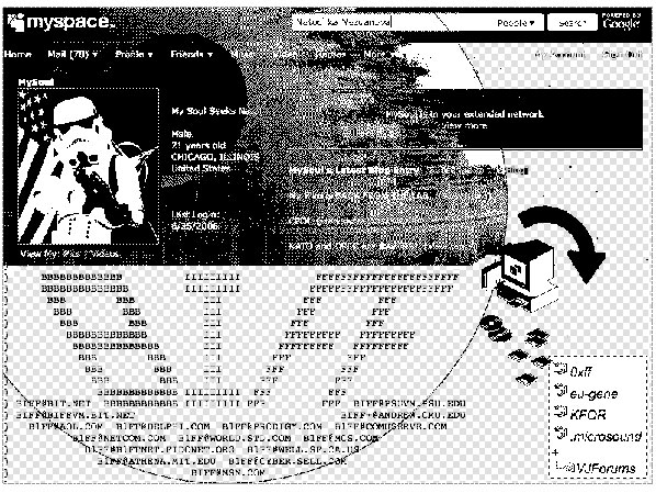 Image from Furtherfield: http://www.furtherfield.org/blog/joncates/lists-boards-friends-feeds-part-iii