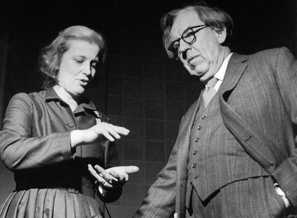 J.D.Bernal and Dorothy Hodgkin. http://bit.ly/1JzXNBh