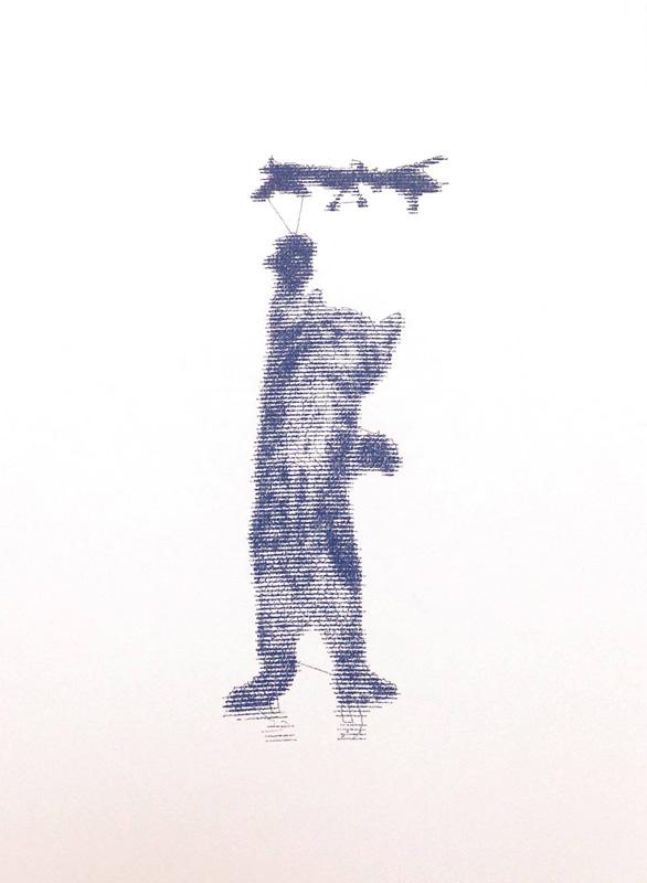 Patrick Lichty, Random Internet Cat vs. Predator #1, 2014