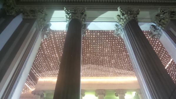 GoMA columns and stars Photo: Caren Gilbert