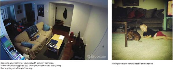 Dropcam security camera, safewise.com - Instagram user reesie936