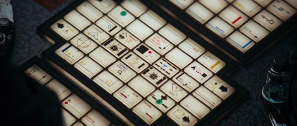The typography in Alien