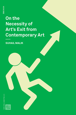 """On the Necessity of Art's Exit from Contemporary Art"" cover"
