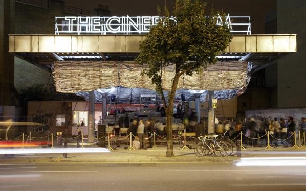 Assemble's The Cineroleum project, London, 2010