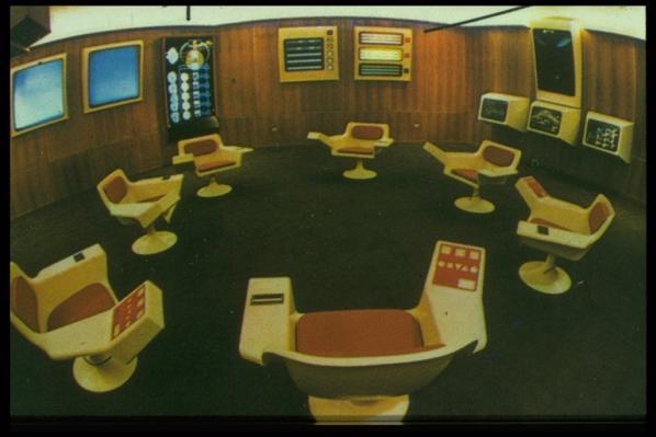 Cybersyn Control Room (1973)