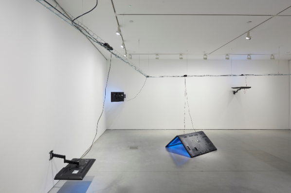 Installation view of the series By Everyone For No One Every Day (BEFNOED)