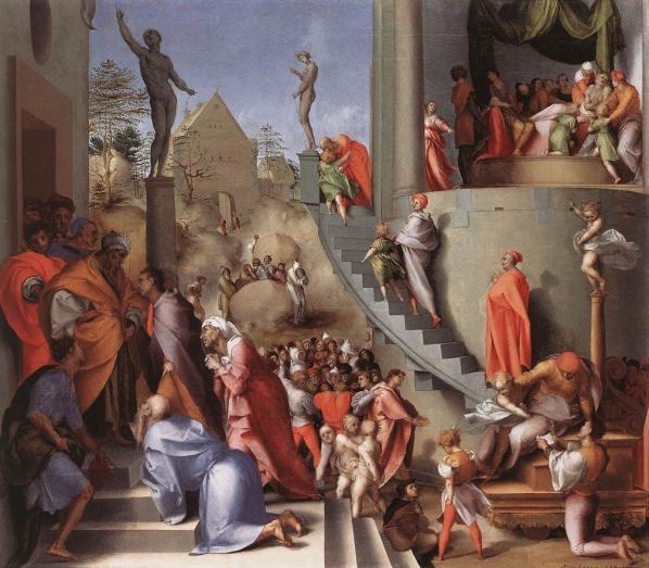 Jacopo Pontormo, Joseph in Egypt (1518)