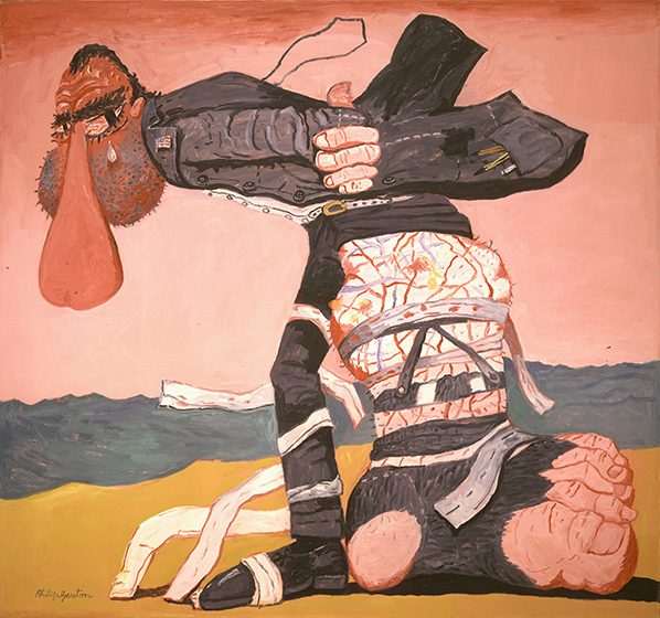 Philip Guston, San Clemente, 1975, Oil on canvas, 68 x 73 1/4 inches
