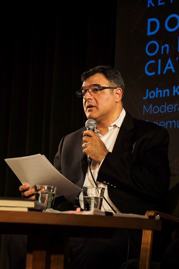John Kiriakou reading from his book
