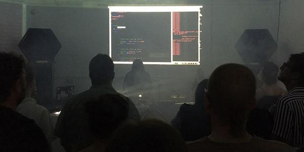 Joanne Armitage Live Coding