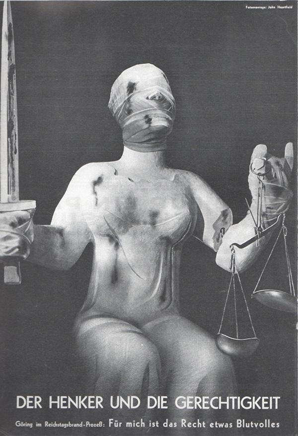 """""""Der Henker und die Gerechtigkeit"""" (1933), John Heartfield"""